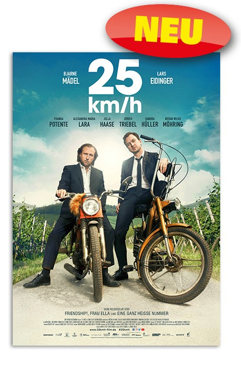 25 km/h DVD+Blue-ray *NEU*