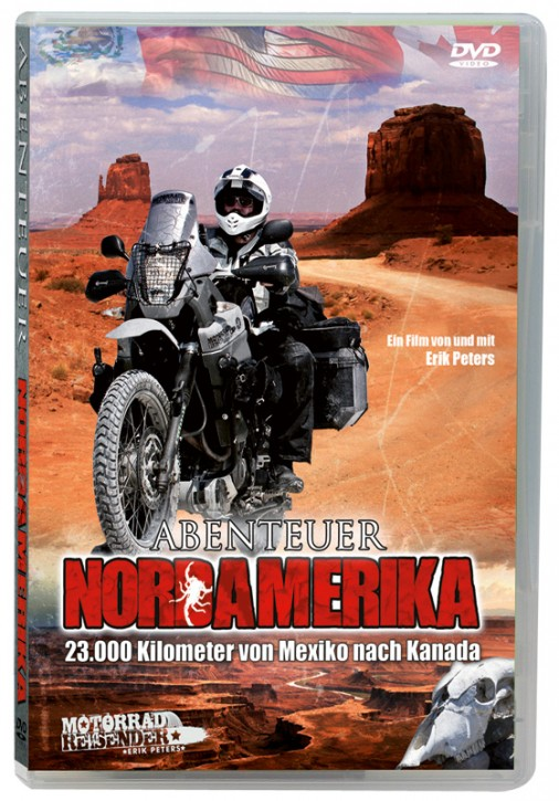 Motorradreisefilm »Abenteuer Nordamerika«