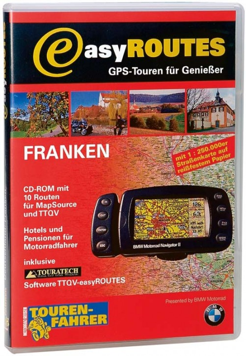 easyROUTES - Franken CD