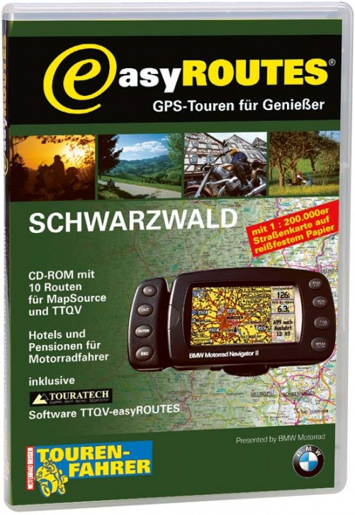 easyROUTES - Schwarzwald CD