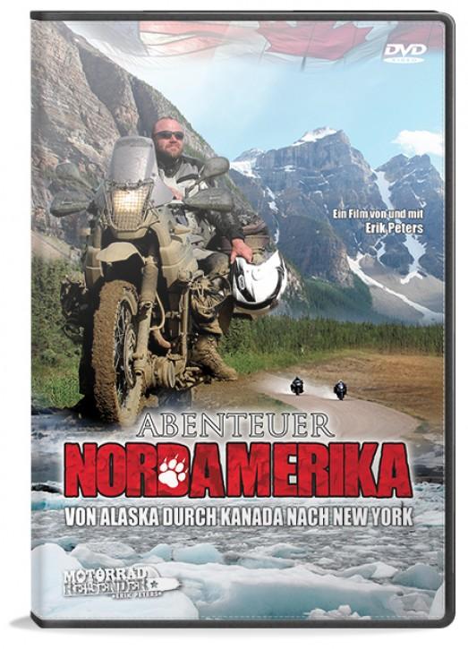 Motorradreisefilm »Abenteuer Nordamerika – von Alaska durch Kanada nach New York«