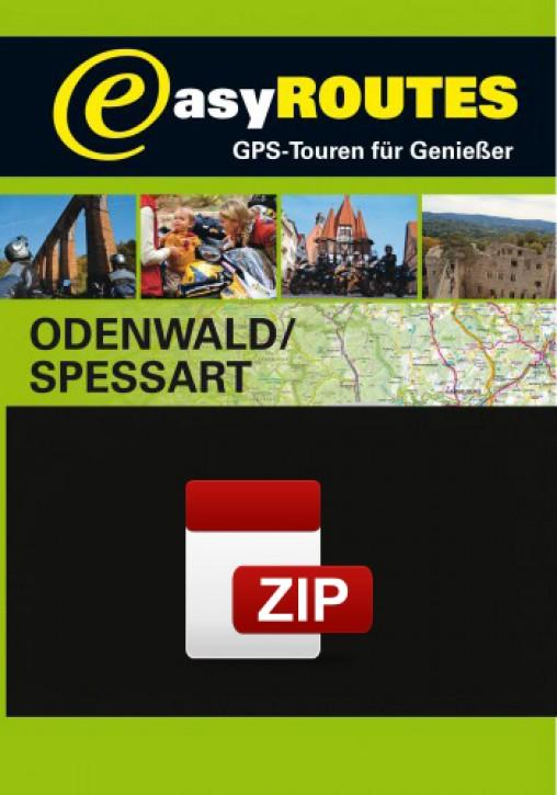 easyROUTES - Odenwald - Spessart ZIP