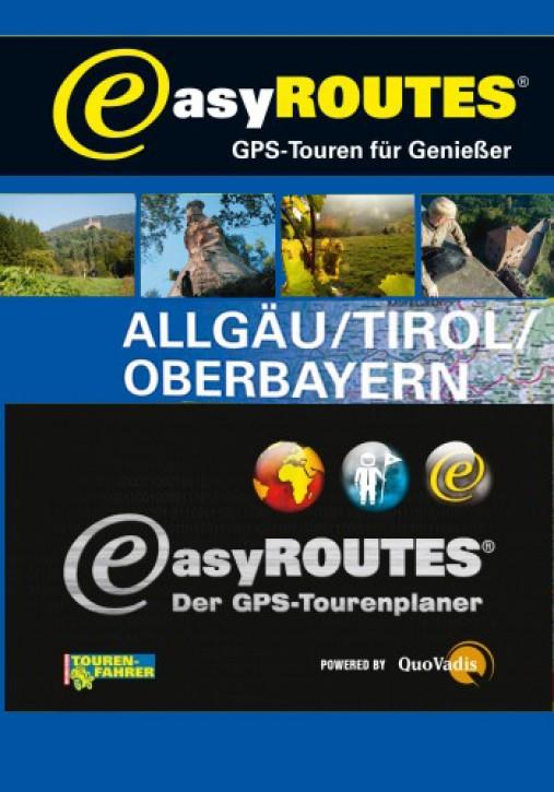 easyROUTES - Allgäu - Tirol - Oberbayern EXE eR3