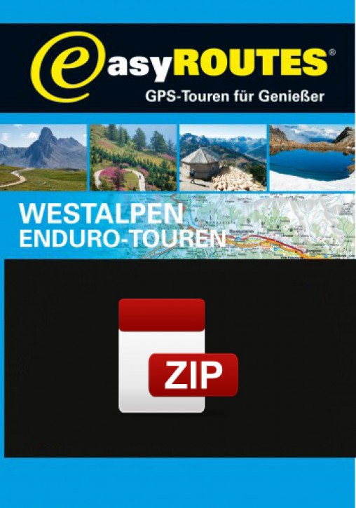 easyROUTES - Westalpen ZIP