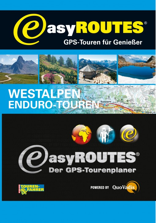 easyROUTES - Westalpen EXE eR3