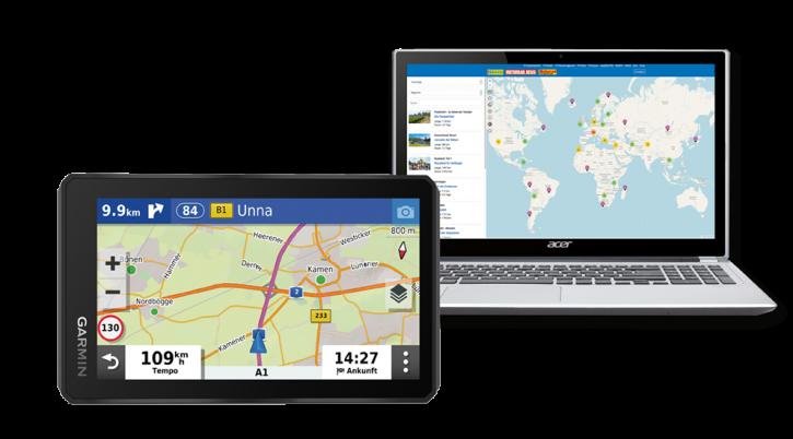 Garmin Zumo XT inklusive TF-Tour-Datenbank-Flatrate