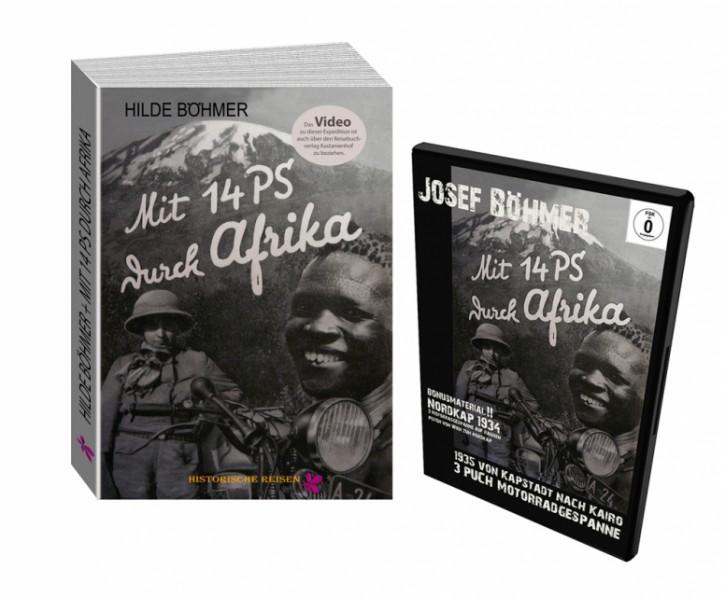 """""""Mit 14 PS durch Afrika"""" - Buch und DVD"""