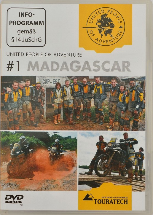 "DVD ""United People of Adventure #1 Madagascar"""