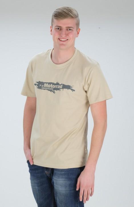 MotorradAbenteuer T-Shirt rundhals