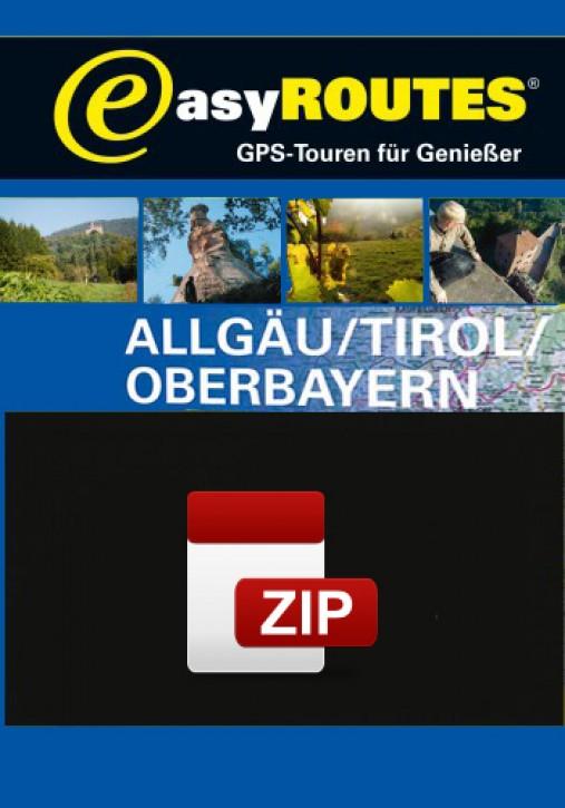 easyROUTES - Allgäu - Tirol - Oberbayern ZIP