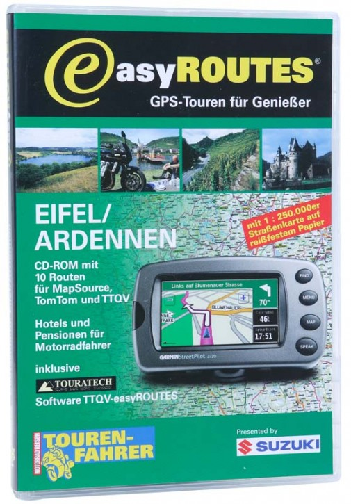 easyROUTES - Eifel - Ardennen