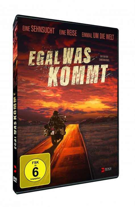Egal was kommt  DVD+Blue-ray