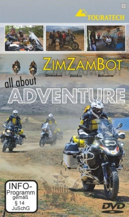 "DVD ZimZamBot ""All about Adventure"" Simbabwe"
