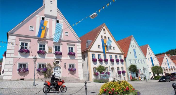Traumstraßen Deutschland Süd