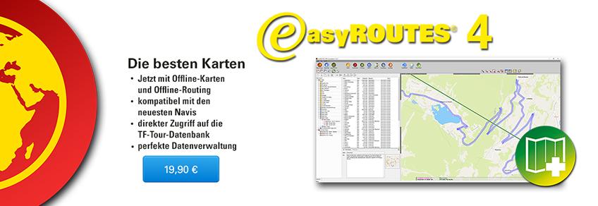 easyROUTES®4 - Die besten Karten