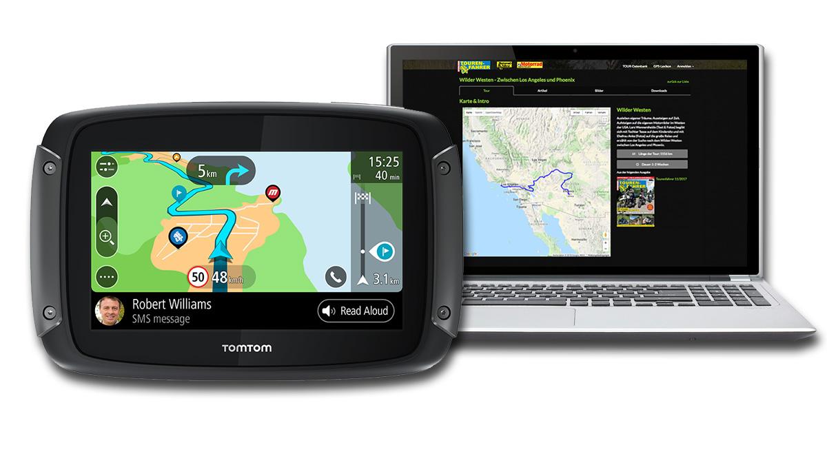Tomtom Rider 550 Inklusive Br Tf Tour Datenbank Flatrate