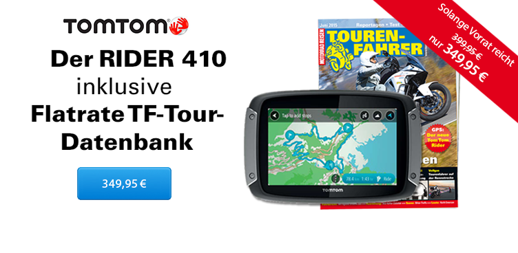 TomTom Rider 410_Tour_DB - Sliderelement