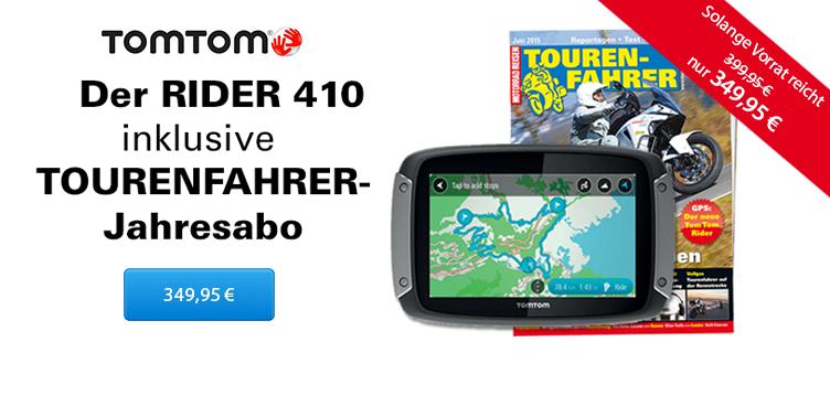 TomTom Rider 410_TF Jahresabo - Sliderelement