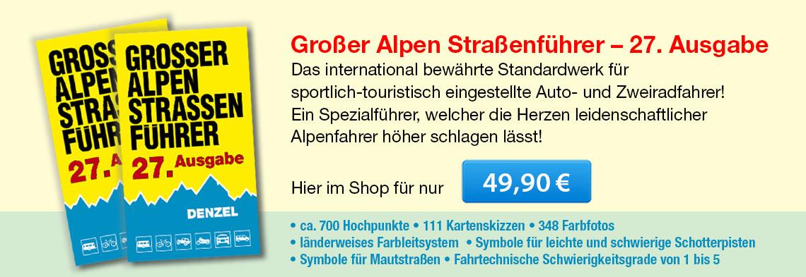 Großer Alpenstraßenführer, 27. Ausgabe