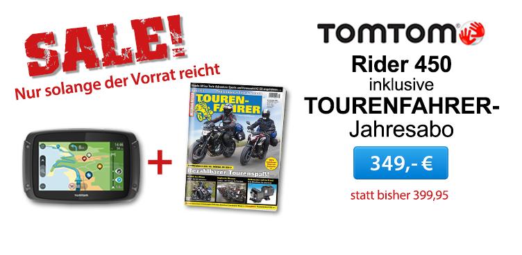 TomTom Rider 450_TF Jahresabo - Sliderelement