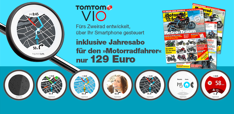 TomTom VIO mit MF-Abo - Sliderelement