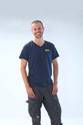 TOURENFAHRER V-Neck Shirt »Man« S
