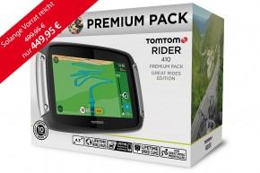 TomTom Rider 410 Premium Pack inklusive TOURENFAHRER Jahresabo
