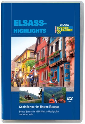 TF-Motorradreisefilm »Elsass-Highlights«