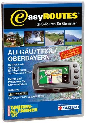 easyROUTES - Allgäu - Tirol - Oberbayern