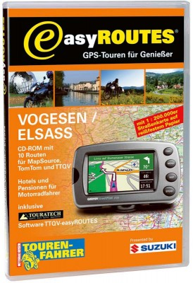 easyROUTES - Vogesen - Elsass