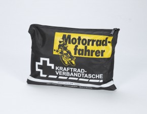 Motorradfahrer Verbandstasche