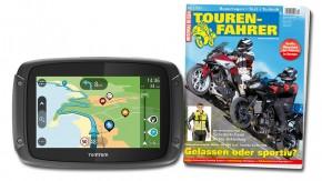 TomTom Rider 450 inklusive TOURENFAHRER Jahresabo