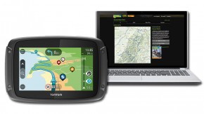 TomTom Rider 450 inklusive <br/>TF-Tour-Datenbank-Flatrate