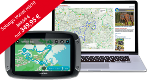 TomTom Rider 410 inklusive TF-Tour-Datenbank-Flatrate