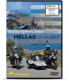"DVD ""Hellas on Wheels - Griechenland"""