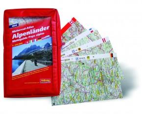 Motorrad-Atlas Alpenländer 2014