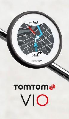 TomTom VIO mit Jahresabo Motorradfahrer